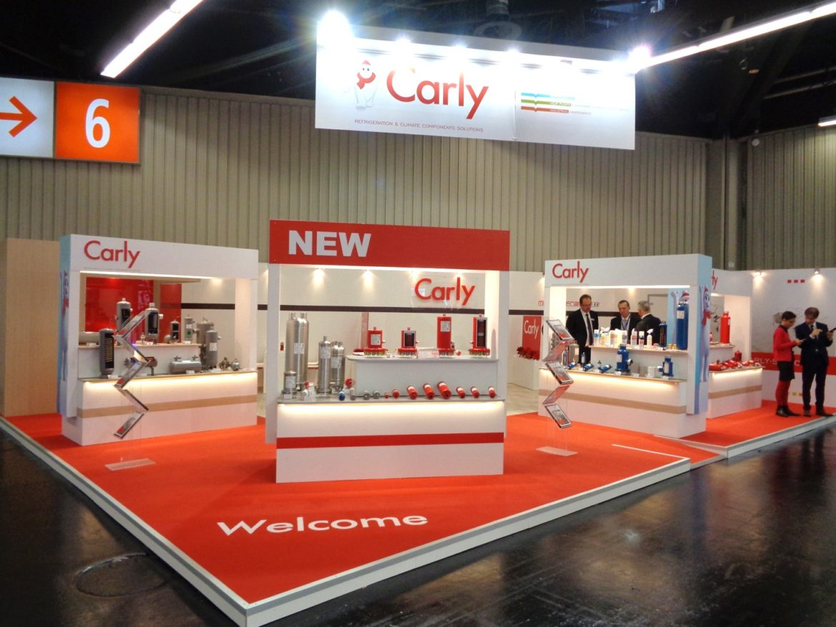 Media product a agencé les stands de CARLY, TECUMSEH EUROPE et FLEXELEC sur le salon CHILLVENTA 2016