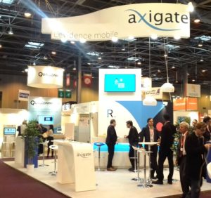 Mediaproduct a agencé les stands de AXIGATE, GERFLOR et SERFI sur le salon PARIS HEALTHCARE WEEK 2017