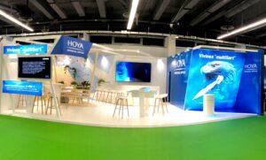 Medi product a réalisé le stand pour Hoya sur la congrès de la SFO 2019